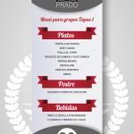 Menú para grupos Cañateca Sitges Tapas 1
