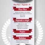 Menú para grupos Pica-Pica + Segundo